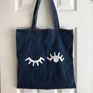 Madewell Denim Wink Tote Bag